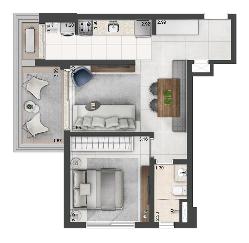 56m²-1-quarto-1-banheiro-1-vaga