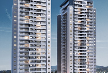 UNITED HOME São Paulo | Barra Funda | Apartamentos de 69 e 100m² | Coberturas Duplex 165m² e 176m²